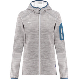 Kaikkialla Tanja Fleece Jacket Women Grey Melange